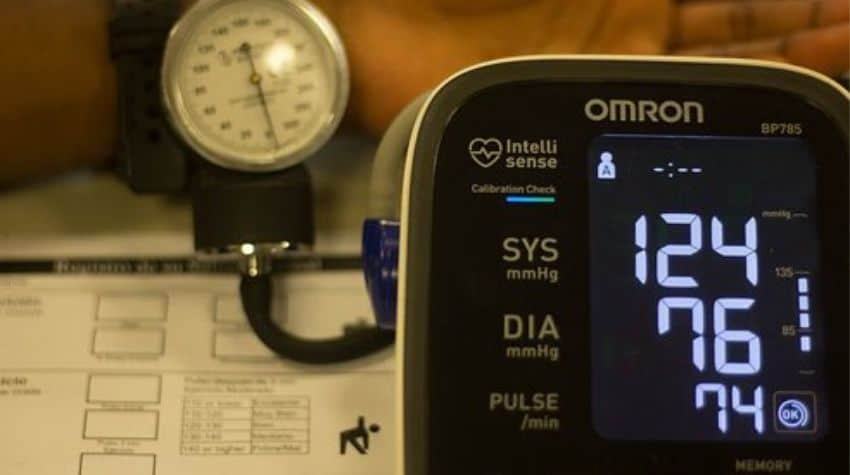 difference between blood pressure and heart rate