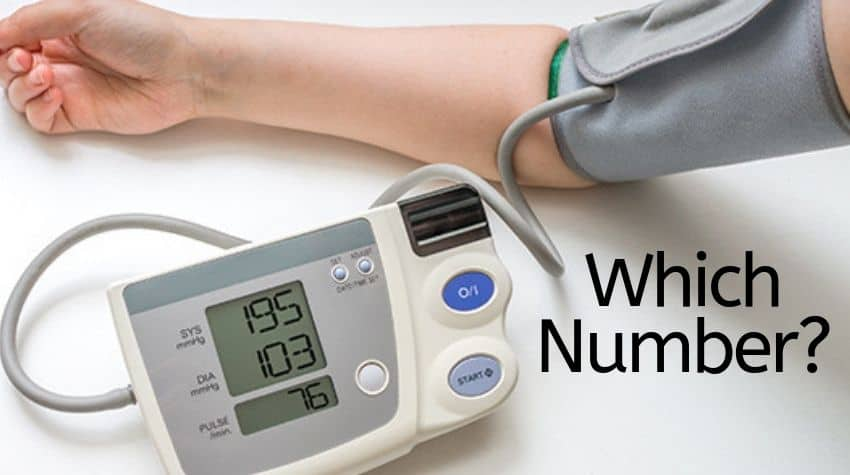 which blood pressure number is more important