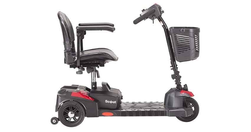 drive medical 3 wheel scooter