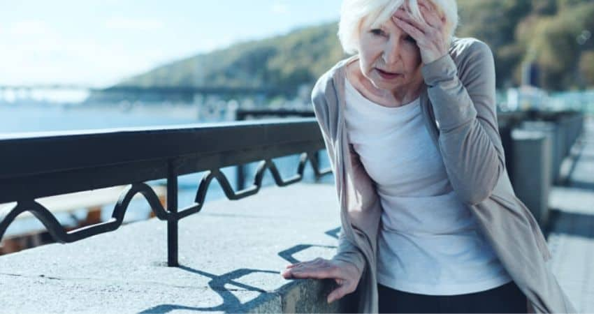 causes of low blood pressure in the elderly