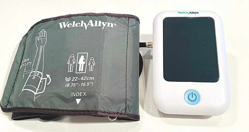 Welch Allyn Home 1700 series blood pressure monitor review