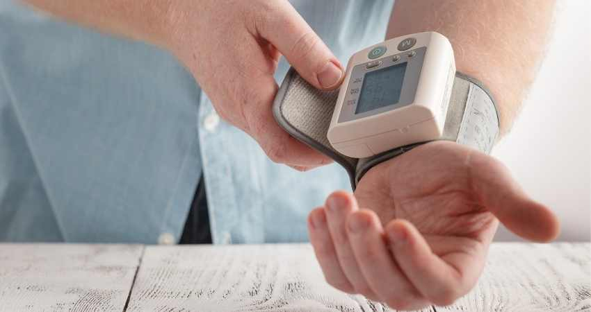what wrist should you take your blood pressure on
