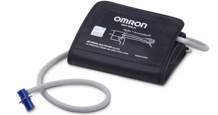 omron wide range d-ring cuff