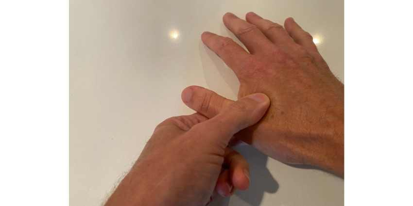 hand valley pressure point for lowering blood pressure